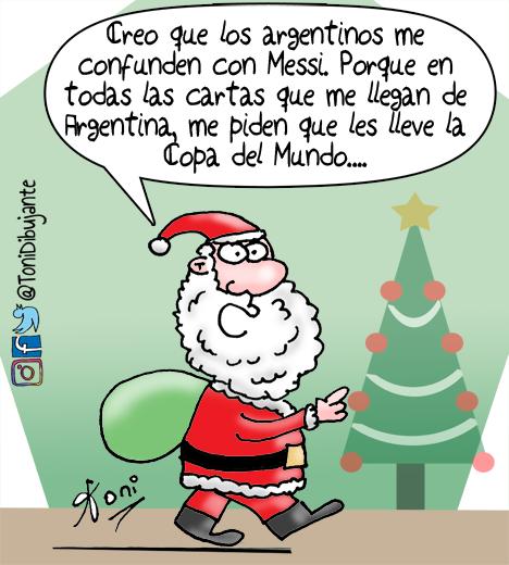 Pedido A Papá Noel Don Patadon