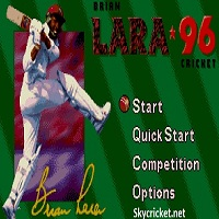 Play Brian Lara 96 Cricket Game
