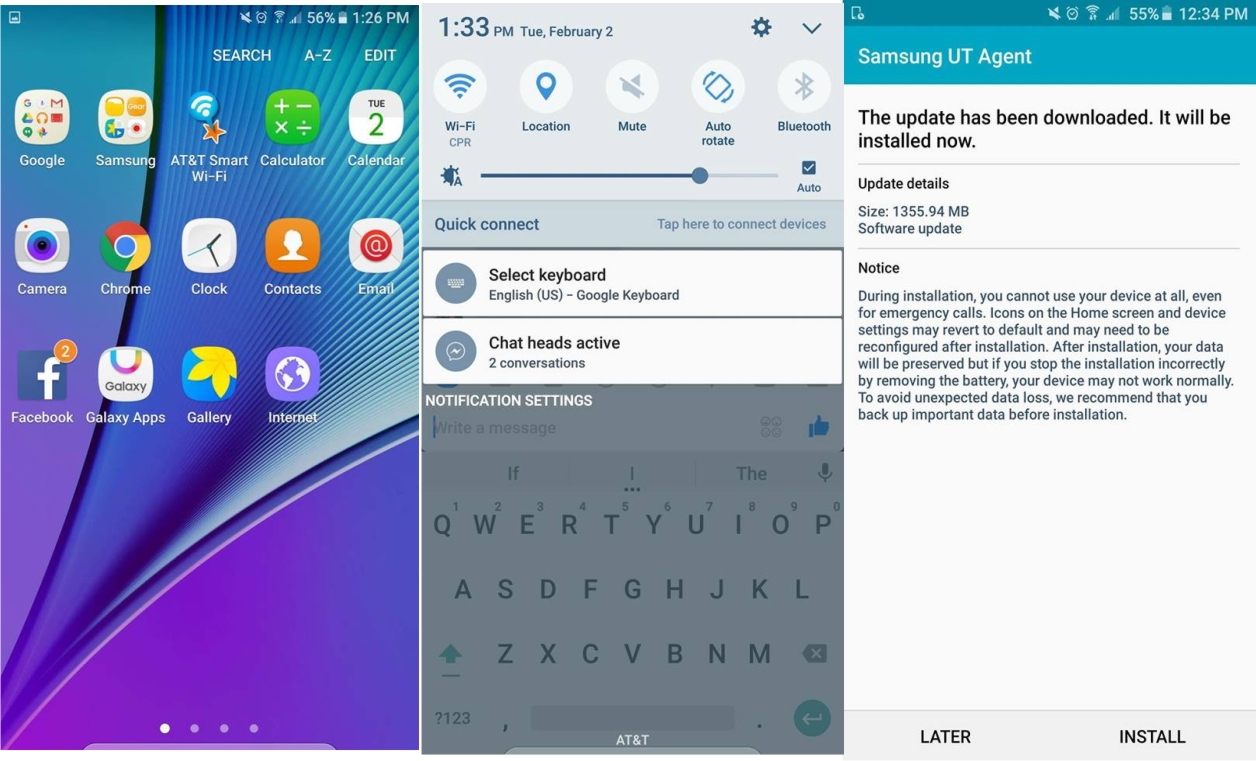 Android 6 0 beta update rolling out to some Samsung Galaxy
