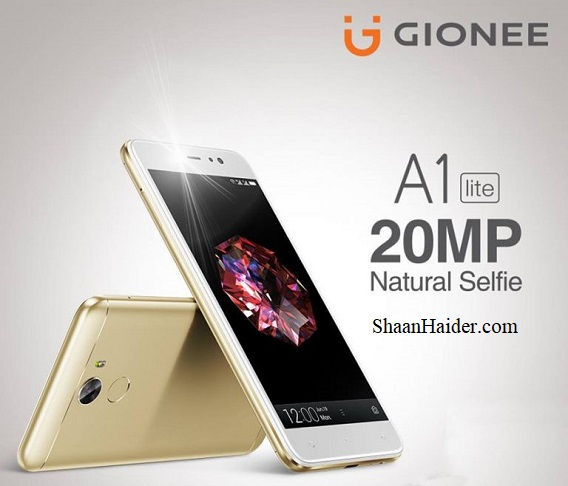 Gionee A1 Lite : Full Hardware Specs, Features, Prices and Availability