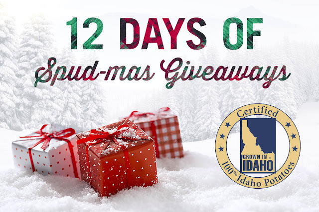 12 DAYS OF SPUD-MAS GIVEAWAY