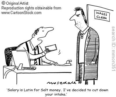 Allison's English Tidbits: Salary vs. Wage