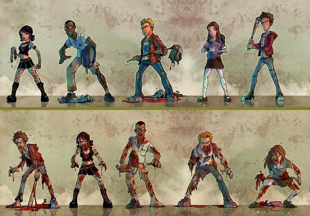 Student Bodies: i giocatori nelle loro versioni: viva e non-morta!