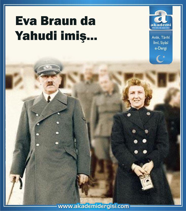 Eva Braun'un da Yahudi olduğu ortaya çıktı...