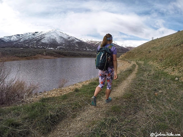 Hiking to Chair Peak, Deer Creek Reservoir