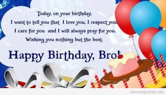 Birthday Wish For My Twin Brother Archidev
