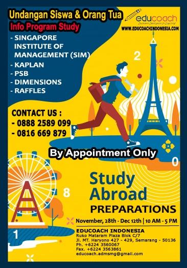 Info Session | Study Abroad | Educoach Indonesia