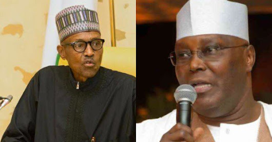 Buhari fires back over Atiku's comment on US ban