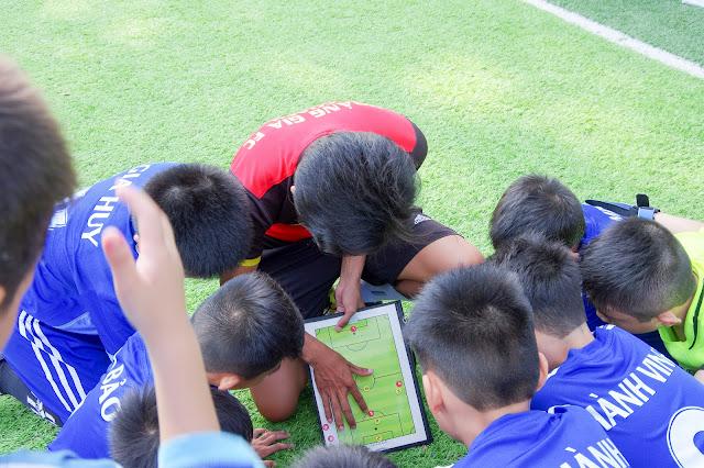 Lớp học bóng đá cho thiếu nhi tại tp Hồ chí Minh và Bình Dương