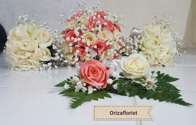 wedding bouquet surabaya, jual hand bouquet wedding surabaya, harga hand bouquet wedding surabaya