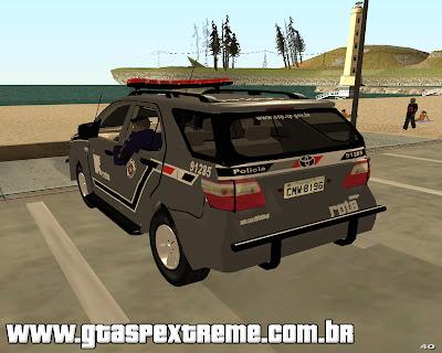Toyota Hilux SW4 ROTA para grand theft auto