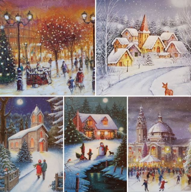 god julbilder julkort