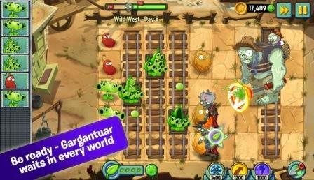 Plants vs Zombies 2 Apk Data