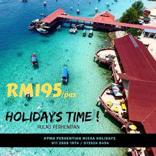 PROMOSI GEMPAK! Pakej Bajet Pulau Perhentian 2019