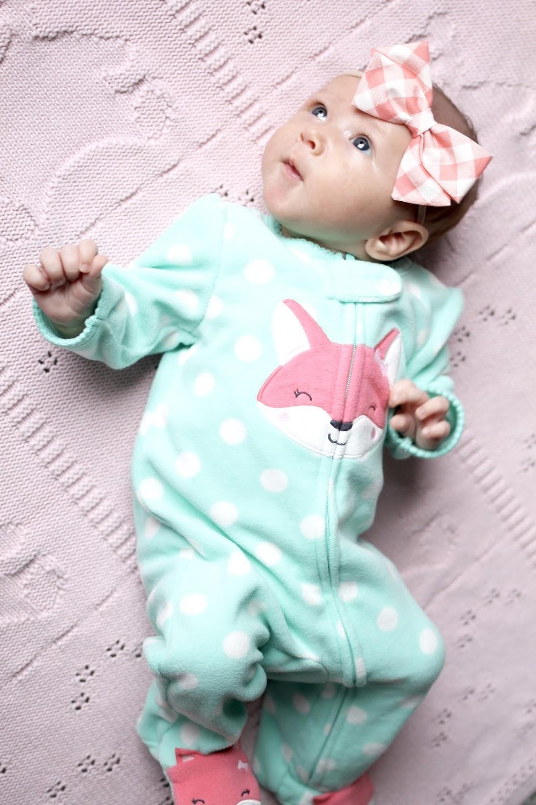 baby pajamas, footie pajamas, warm baby pjs
