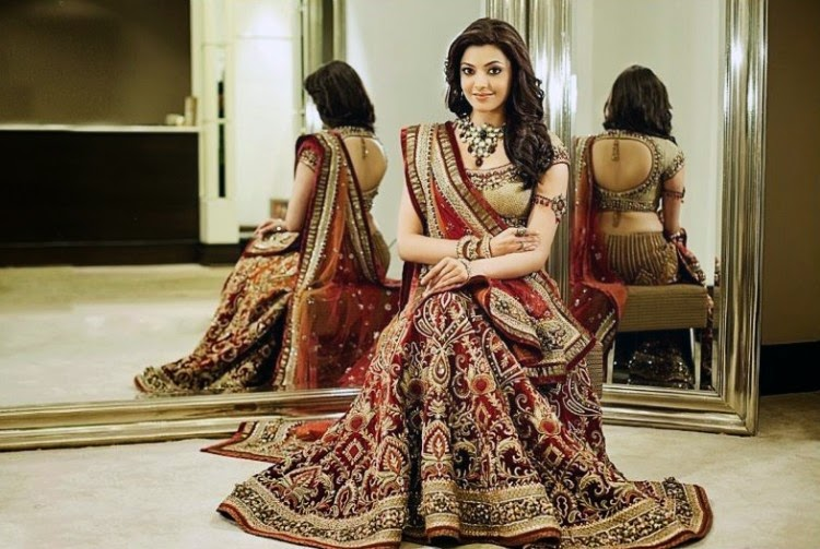 kajal agarwal traditional dress - photo #16