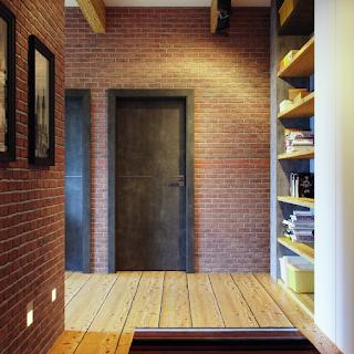 drzwi w lofcie