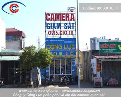 Nhà phân phối và lắp đặt camera uy tín tại Nguyễn Đức Cảnh - Hải Phòng.