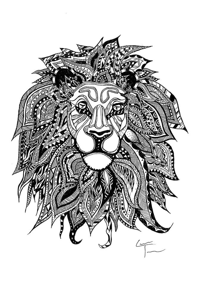 10-Lion-s-Head-Telfer-Game-of-Thrones-Zentangle-and-more-www-designstack-co