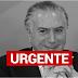 URGENTE: Polícia Federal acaba de prender o ex-presidente Michel Temer
