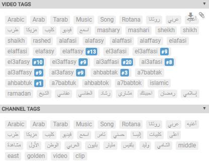 Youtube Keyword