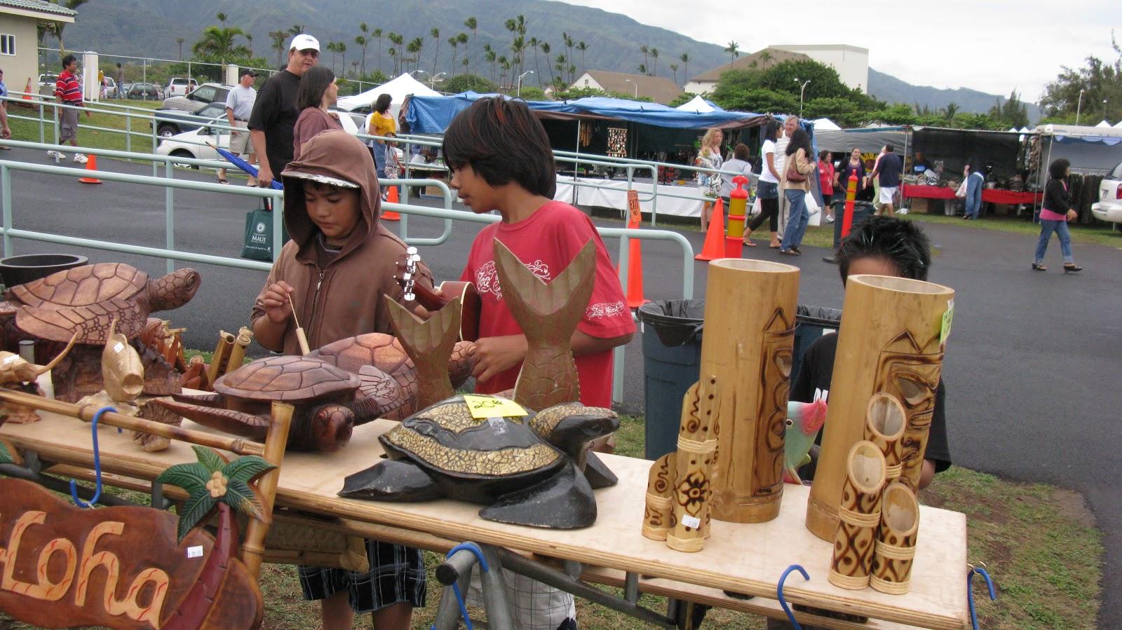 Maui Craft Fair Saturday