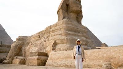 """زيارة """"ميلانيا"""" إلى مصر"""