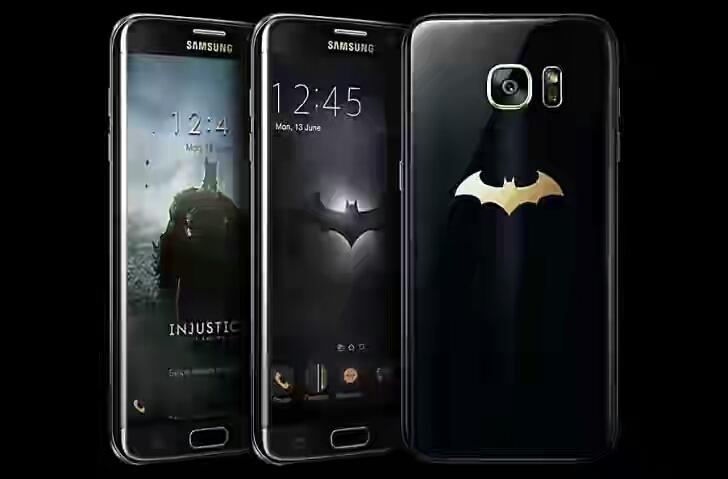 Samsung Galaxy S7 Edge Batman Edition