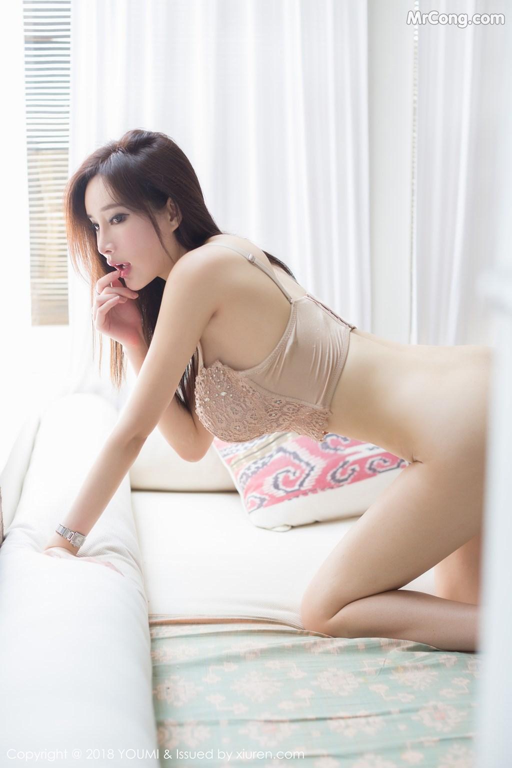 Image YouMi-Vol.197-Tu-Fei-Yuan-Ai-Cuo-Qiong-MrCong.com-005 in post YouMi Vol.197: Người mẫu 奶瓶土肥圆 (48 ảnh)