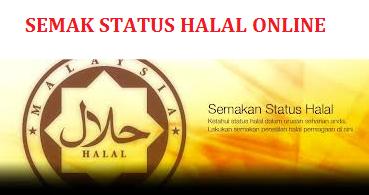 Semakan Status Halal Jakim Online Dan SMS