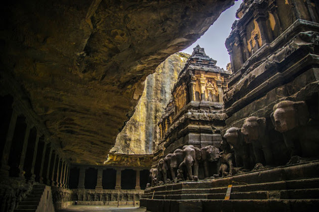 UNESCO world heritage sites ellora caves maharashtra
