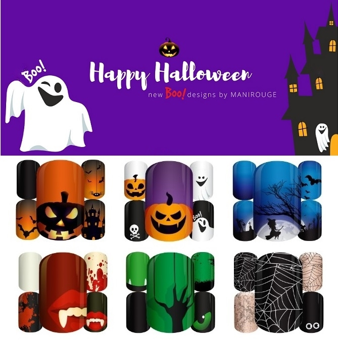 Nowa kolekcja Happy Halloweeen Boo! designs by Manirouge