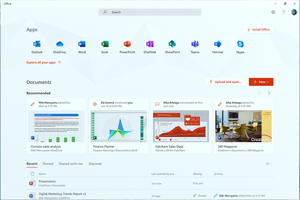 Microsoft debuts new Office app for Windows 10