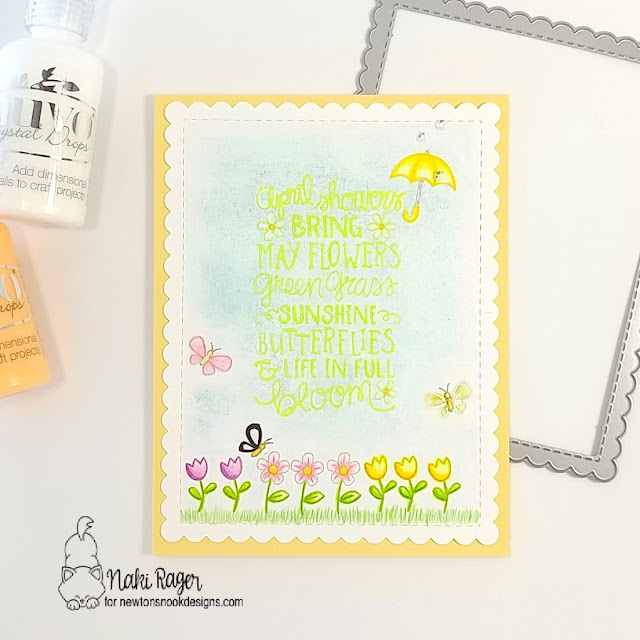 Newton's Nook Designs April Showers Set - Naki Rager
