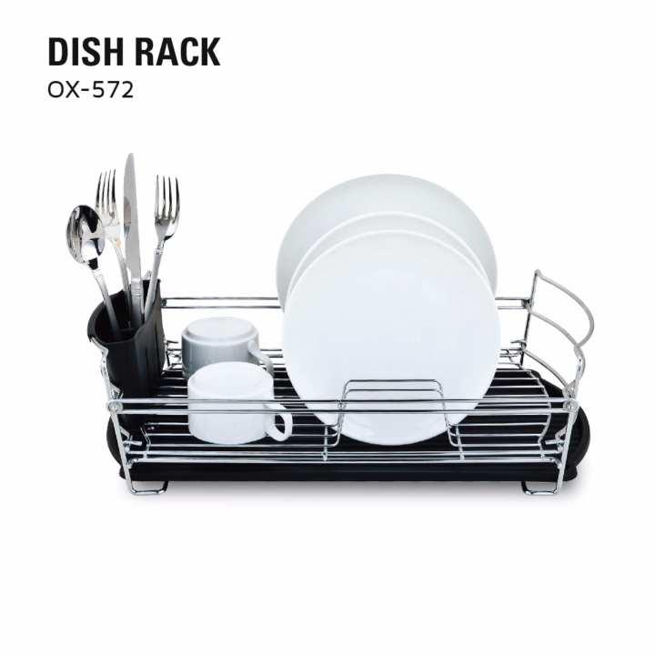 OX-572 Eco Plastic Dish Rack Oxone - Rak Piring Plastik