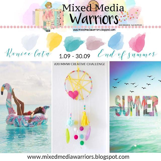 Wyzwanie wrześniowe MMW #20: Koniec lata z moodboardem | MMW #20 Creative challenge - End of summer