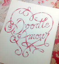 """Doodle Amour"" workshop @ French General, LA, Feb 9, 2013"