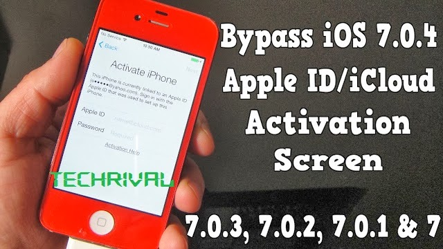 how to bypass icloud activation on iphone 5s how to bypass ios 7 0 4 7 apple id activation lock 7808
