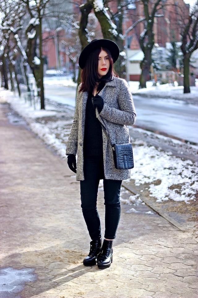Lilly Marlenne by Mar blog modowy stylizacja z kapeluszem