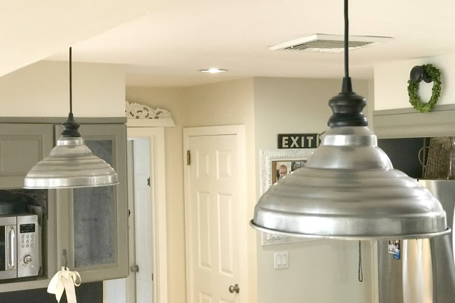 Farmhouse Style Hanging Kitchen Lamp Shades