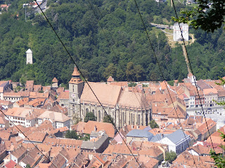 Biserica Neagra si cele 2 Turnuri Brasov Romania,