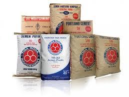Semen Tiga Roda, salah satu merek semen yang ada di pasaran