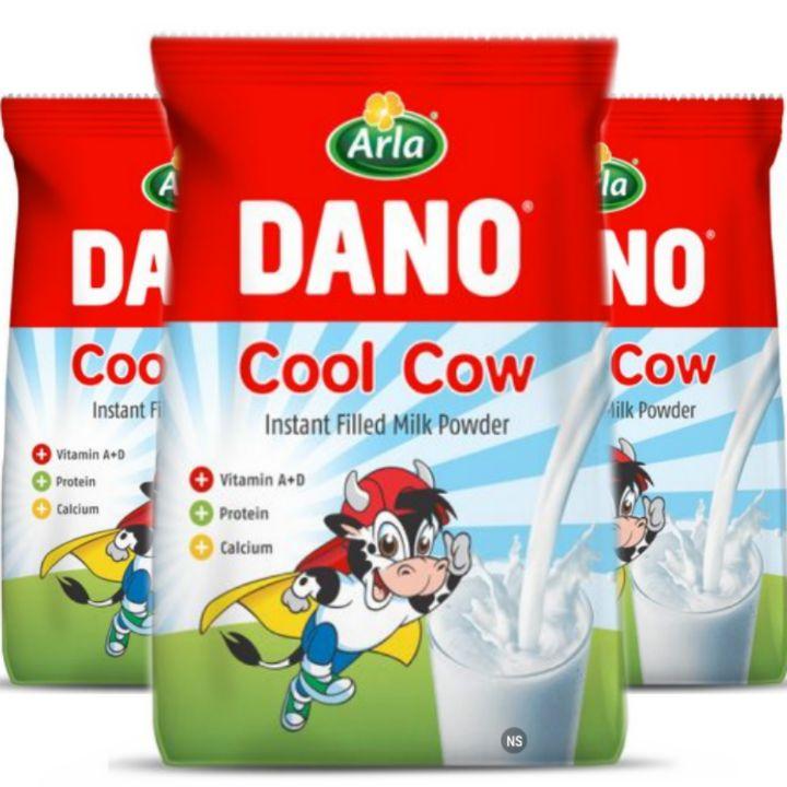 Arla Dano Milk Powder: Cool Cow Creamy Milk for Beverages, Tea, Coffee or Cereals