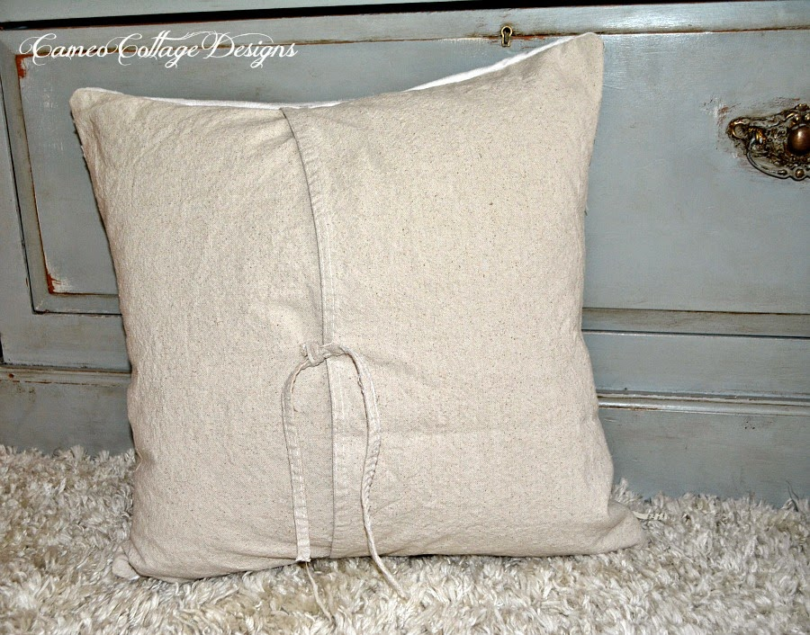 Cameo Cottage Designs My Pottery Barn Mummy Decorative Pillow