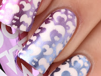 models Own Colour Chrome Collection, nail stamping スタンピングネイル