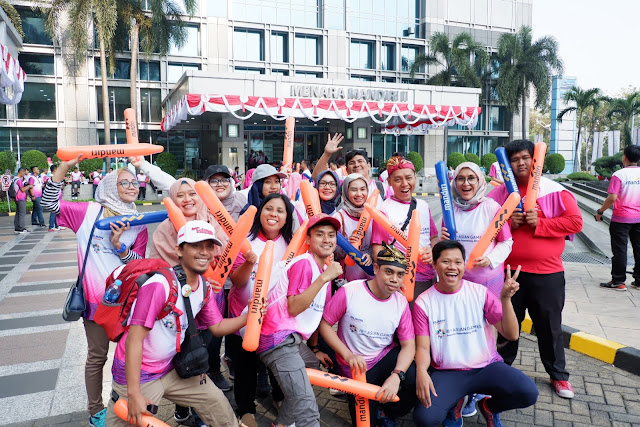 torch relay asian games 2018 bersama bank mandiri