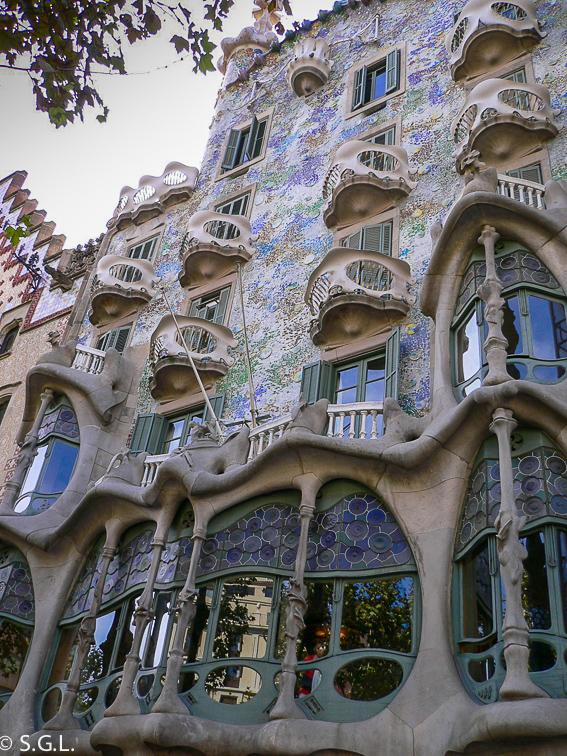 Casa Batllo. Barcelona. Gaudi en España