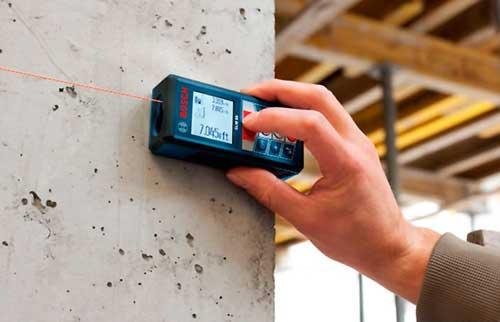 Instalaciones eléctricas residenciales - Medidor de distancia láser