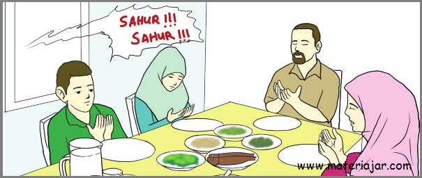 fiqih kelas 3 bab puasa ramadhan semester 2 k 13