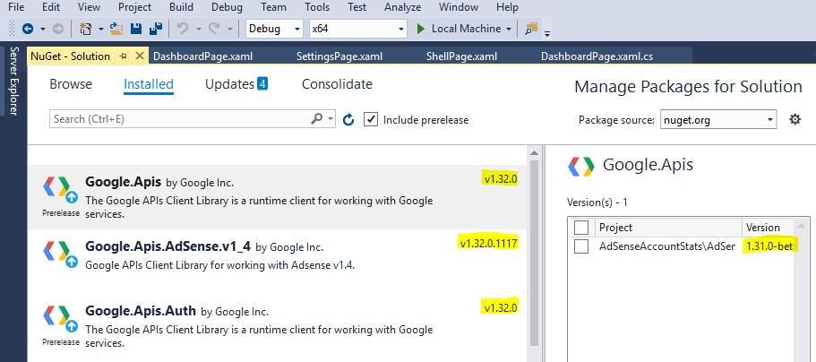 Blazing Tech and Media: Google OAuth2 for UWP C# XAML Apps Example